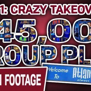 ☝ Part 1: $45,000 GROUP PLAY 🔒 Lock It Link: Nightlife & Dollar Storm: Caribbean Gold SLOTS