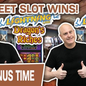 ⚡ Lightning Link: 2 SWEET SLOT WINS! 🐉 This Is Why I LOVE Dragon's Riches