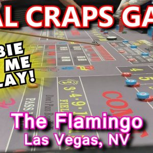 CRAPS ON THE STRIP! - Live Craps Game #47 - Flamingo, Las Vegas, NV - Inside the Casino - ASMR video
