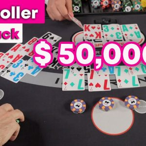 High Roller Blackjack - Biggest Blackjack Session of 2020 - Massive Splits - #127