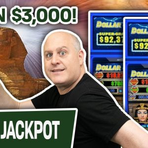🎉 I Won $3,000 Playing High-Limit Slot Machines 👀 WATCH ME DO IT…