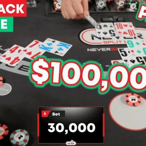 $100,000 Blackjack Miracle Session - Part 3 The Conclusion - #130