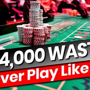 13 Disastrous Roulette Mistakes ➜$14K LOST!