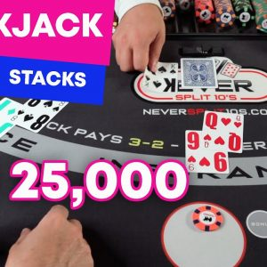 $25,000 Blackjack Tower - Building Stacks - #124
