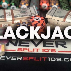 $250,000 Blackjack Sessions - Best Blackjack Wins of 2020 #131