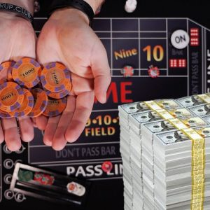 $3,650,000 a Year Playing Craps