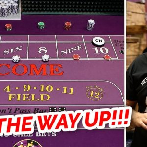 🔥 GREAT RUN 🔥 30 Roll Craps Challenge - WIN BIG or BUST #36