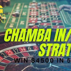 CHAMBA IN OUT STRATEGY | BIG WIN ROULETTE TRICK | 90% WINNING STRATEGY | HIGH RISK BIG WIN TECHNIQUE
