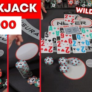 Blackjack - From 1K to $50,000 and then..... You need to see this Wild Session | #125