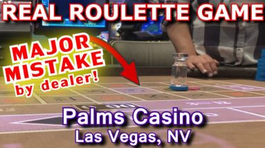 EYE IN THE SKY CALLED ON DEALER! - Live Roulette Game #27 - Palms, Las Vegas, NV - Inside the Casino