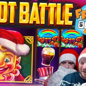 EPIC CHRISTMAS SLOT BATTLE SPECIAL!! MERRY XMAS!!