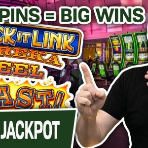 🔓 Lock It Link HANDPAY 🏆 BIG Slot Spins = BIG Slot Wins