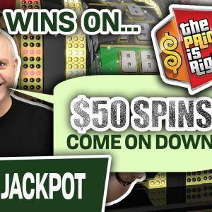 💣 HUGE WINS on The Price Is Right Slots 💰 $50 Spins, COME ON DOWN!!!