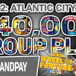 🥈 Part 2: $40,000 GROUP PLAY 🐷 Piggy Bankin', Dragon Link, Wheel of Fortune, & MORE!