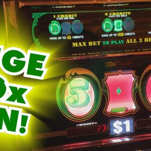INCREDIBLE JACKPOT WIN on CASH MACHINE! - Slots #22 - Inside the Casino