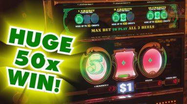 INCREDIBLE JACKPOT WIN on CASH MACHINE! - Slots #22 - Inside the Casino