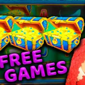 15 FREE GAMES on ULTRA HOT HIGH LIMIT FIRE LINK Slot Machine at HARD ROCK CASINO
