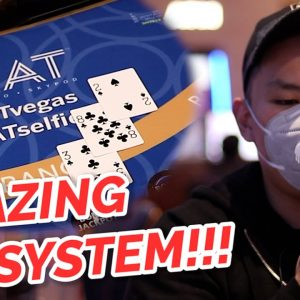NO BUST BLACKJACK!!! Live Blackjack At Strat Hotel & Casino #4