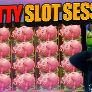ONLINE SLOT BONUS COMPILATION feat Piggy Bank Farm And MORE!