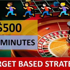 Target based Strategy | Win $500 in 5 minutes | Modified Two Bet Strategy | Win Daily Target
