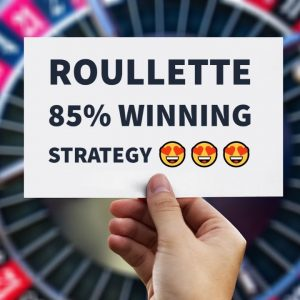 Roulette 85% winning strategy | Never loose money again