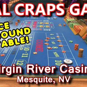 30 MINUTES OF CRAPS! - Live Craps Game #48 - Virgin River Casino, Mesquite, NV - Inside the Casino