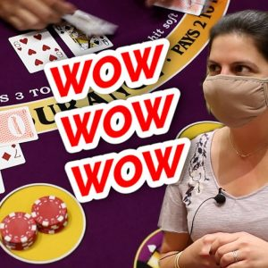 🔥 HOW DID SHE DO IT 🔥10 Minute Blackjack Challenge - WIN BIG or BUST #70