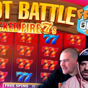 SLOT BATTLE SUNDAY!! Inspired Gaming vs Fruity Slots!
