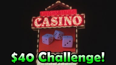 MASSIVE WIN ON BUFFALO REVOLUTION! - $40 Slot Challenge #17 - Inside the Casino