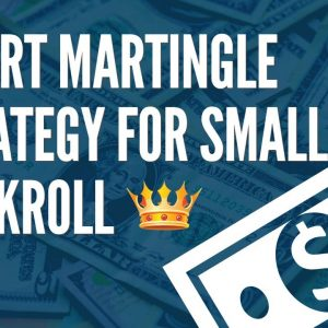 Smart Martingale Strategy for Small Bankroll | Never lose money tricks | 100% profit strategy