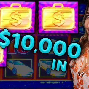 Trying MY LUCK w/ $10,000 on Lightning Link!
