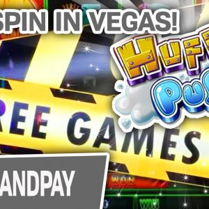 🐺 HOLY HUFF N' PUFF! ✨ $50/Spin HIGH-LIMIT JACKPOT on the LAS VEGAS STRIP
