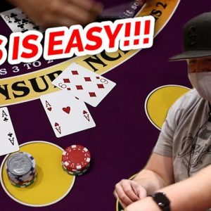 🔥 EASY RUN 🔥10 Minute Blackjack Challenge - WIN BIG or BUST #73