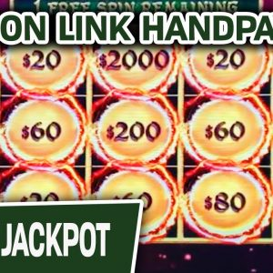 🔝 HIGH-LIMIT Dragon Link Slot HANDPAY 🥂 This One Makes Me Happy AND Prosperous