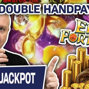 🐫 EPIC Double Handpay Playing EPIC Fortunes Slots 💥 $50 Spins at The Lodge Casino