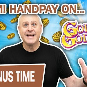 💣 BOOM! Handpay Jackpot on Golden Goddess! 👱♀ Does It Get Any Better than THIS?