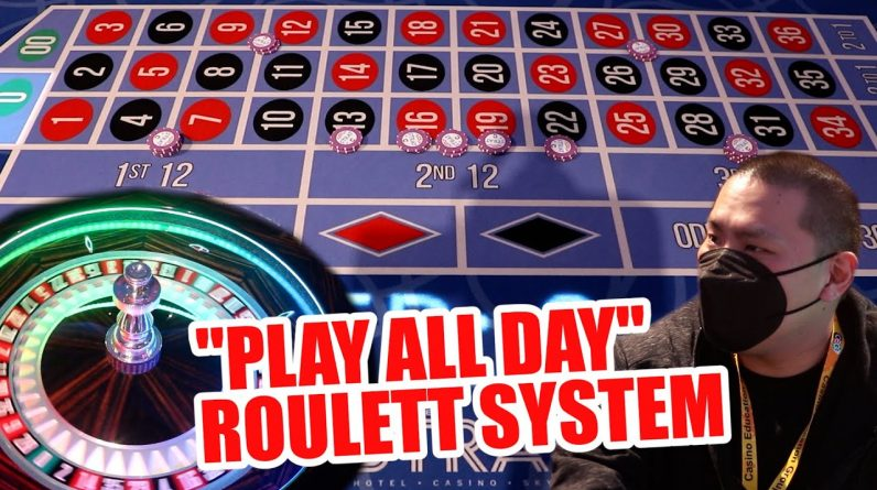 "$100 BUY IN ""EASY"" SYSTEM - Live Roulette Strat Hotel & Casino"