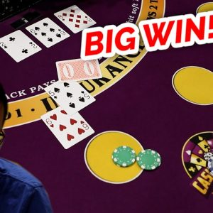 🔥 BIG!? 🔥10 Minute Blackjack Challenge - WIN BIG or BUST #79