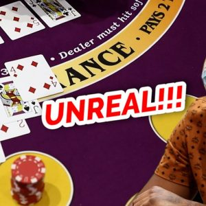 🔥 UNREAL 🔥10 Minute Blackjack Challenge - WIN BIG or BUST #77