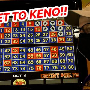 ALEX LEARNS THE SECRET TO KENO - Live Keno At Strat Hotel