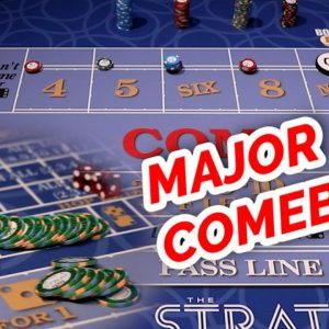 BIG ROLL CONTINUES... - Live Craps at the Strat in Las Vegas - Part 6