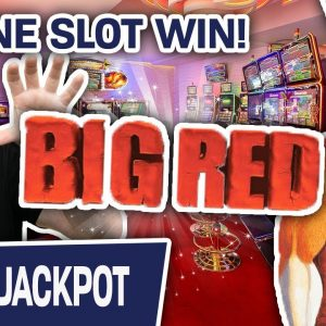 🔺 Insane Jackpot on Big Red Slot Machine ➕ 50 Dragons and Black Panther HIGH-LIMIT Slots