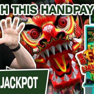 💘 I LOVE JACKPOTS! Do You? 💘 Then Watch THIS HANDPAY on Fu Dai Lian Lian: Dragon