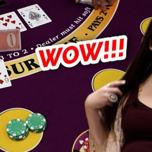 🔥 OVERPOWERED 🔥10 Minute Blackjack Challenge - WIN BIG or BUST #74