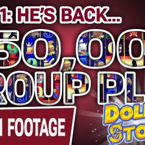 ☝ Part 1: $50,000 GROUP PLAY ⛈ Hitting Handpays on Dollar Storm in ATLANTIC CITY