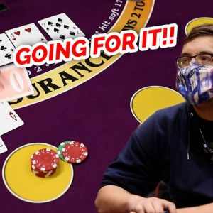 🔥 GOOD CHANCE? 🔥10 Minute Blackjack Challenge - WIN BIG or BUST #76