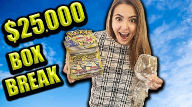 Opening a $25,000 Neo Genesis Pokemon Box at Home!