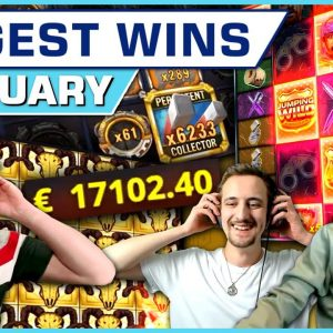 Top 10 Slot Wins of January 2021