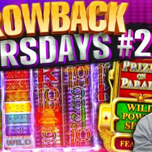 Throwback Thursdays #2- FAVOURITE OLD SCHOOL SLOTS! Feat Rainbow Riches, Bruce Lee & Book of Dead!