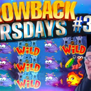 OLD BUT GOLD SLOTS! Lots Of Bonuses Feat Fish Party, Bonanza, Book Of Dead! Throwback Thursdays #3